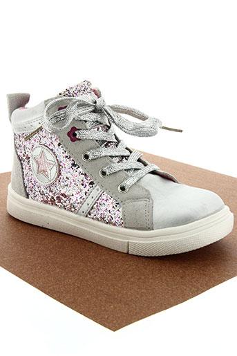 kouki chaussures fille de couleur rose