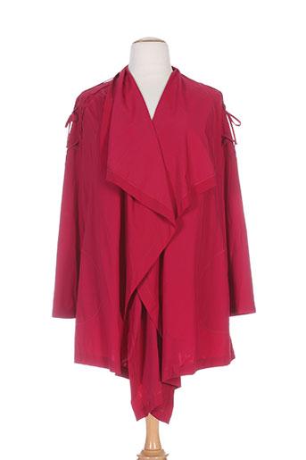 my square vestes femme de couleur rouge