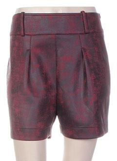 Produit-Shorts / Bermudas-Femme-BAI AMOUR
