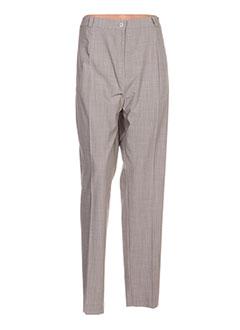 Pantalon casual gris ELSSA pour femme