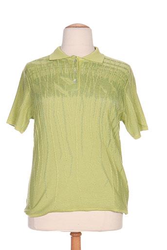 fileuse d'arvor t-shirts femme de couleur vert