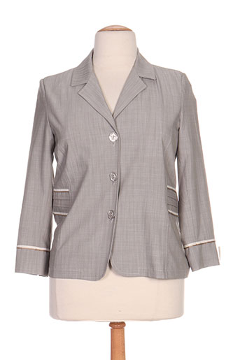 Veste chic / Blazer gris ELSSA pour femme