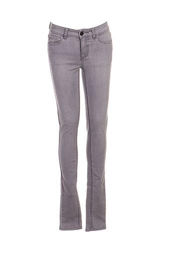 vila pantalons femme de couleur gris