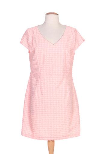 attentif robes femme de couleur rose