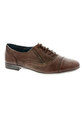 993 nove-nove-tre chaussures fille de couleur marron