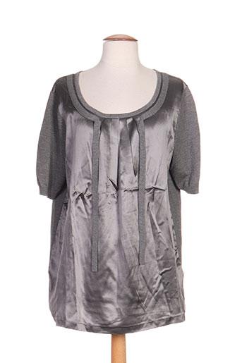 laurel tuniques femme de couleur gris