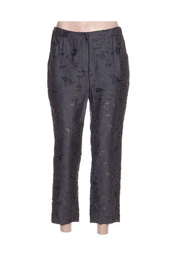 devotion pantalons femme de couleur gris