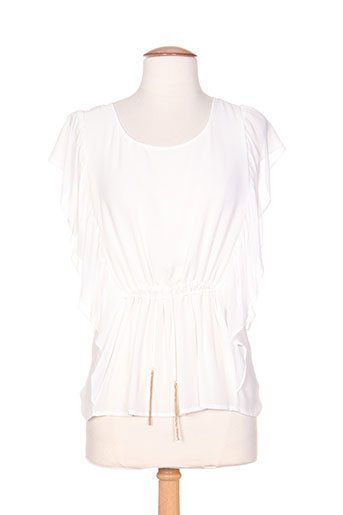 kocca chemises femme de couleur blanc