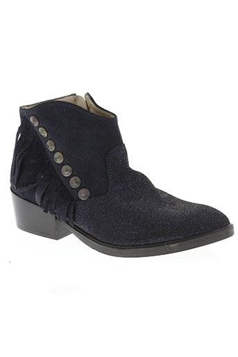 see you jane chaussures femme de couleur bleu