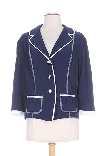 joseph ribkoff vestes femme de couleur bleu