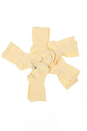 kindy lingerie garçon de couleur jaune