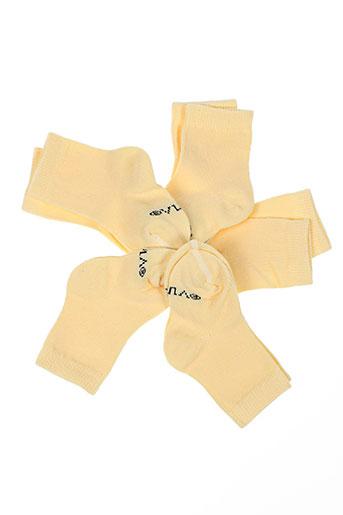 Chaussettes jaune KINDY pour enfant