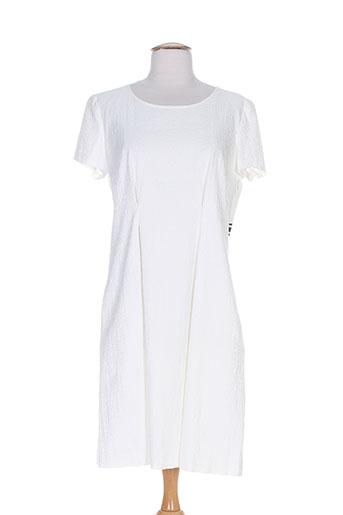 marella robes femme de couleur blanc