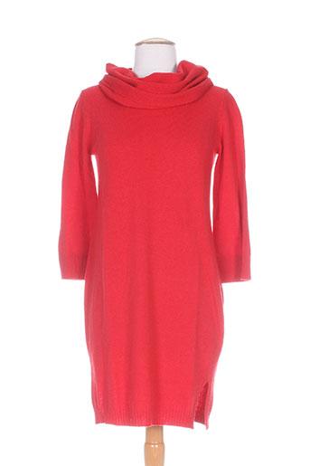 marella robes femme de couleur rouge