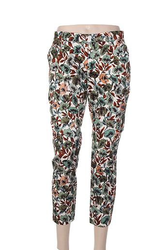 r95th pantalons femme de couleur vert