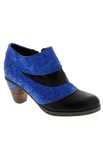 laura vita chaussures femme de couleur bleu
