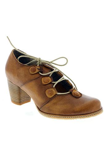 dkode chaussures femme de couleur marron