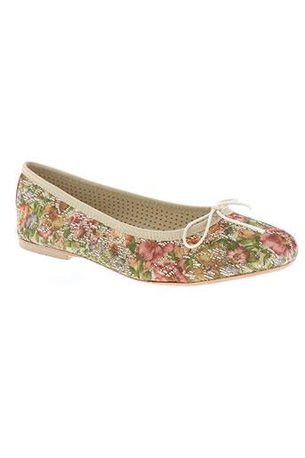 pettegola chaussures femme de couleur beige