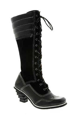 eject chaussures femme de couleur noir