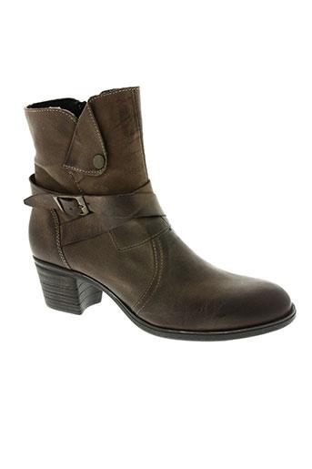 chacal chaussures femme de couleur marron