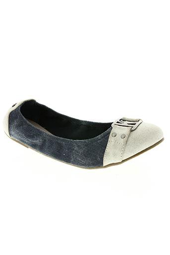 kaporal chaussures femme de couleur bleu