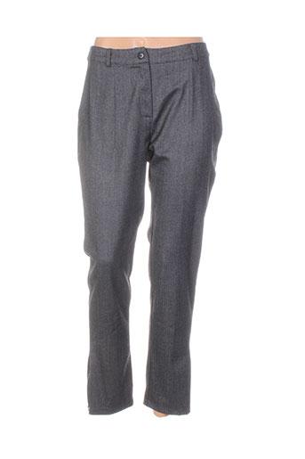 Pantalon 7/8 gris COLEEN BOW pour femme