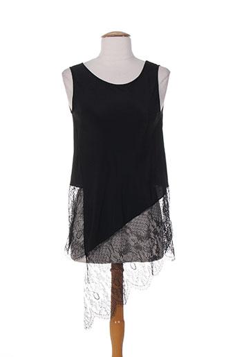 vanise chemises femme de couleur noir