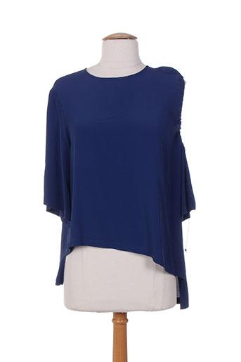 vanise chemises femme de couleur bleu