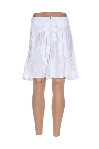 mybo jupes femme de couleur blanc