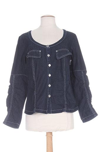 Veste en jean bleu MYBO pour femme