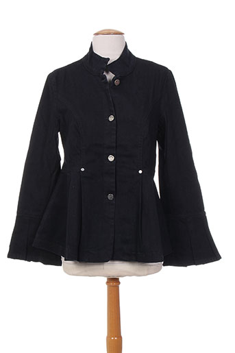 Veste en jean noir MYBO pour femme