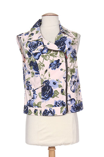 Veste casual rose MYBO pour femme