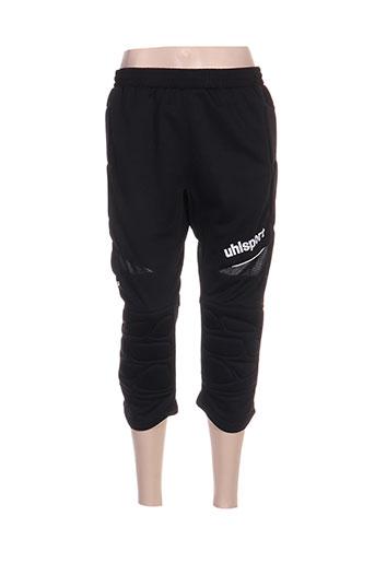 uhlsport shorts / bermudas homme de couleur noir
