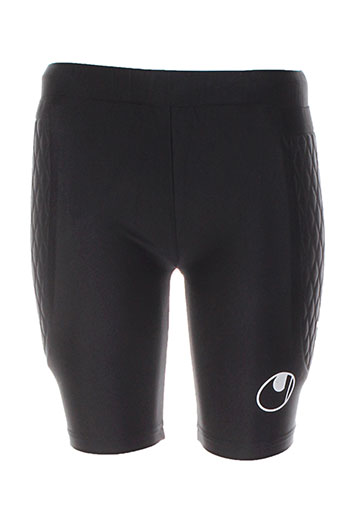 uhlsport shorts / bermudas garçon de couleur noir