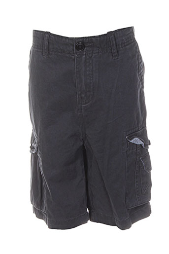 quiksilver shorts / bermudas garçon de couleur noir
