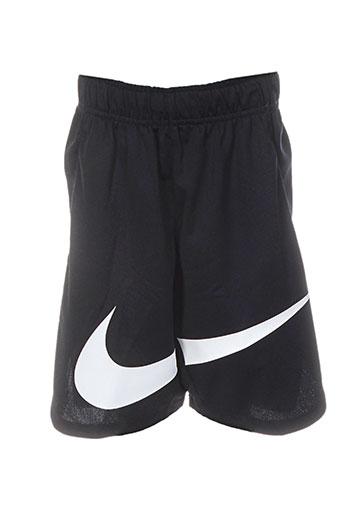 nike shorts / bermudas garçon de couleur noir