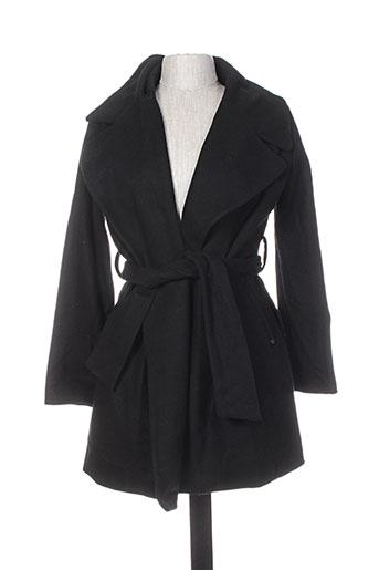 kaporal manteaux femme de couleur noir