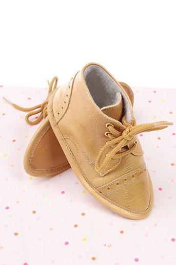 baby chick chaussures garçon de couleur jaune