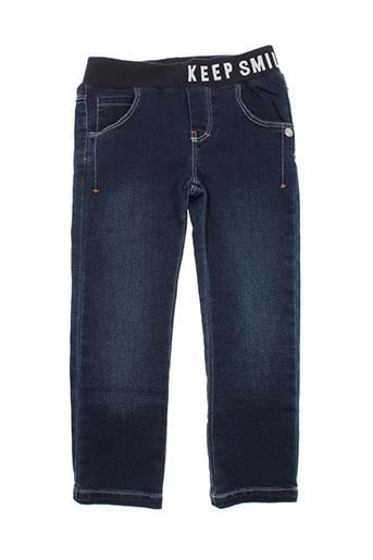 absorba jeans garçon de couleur bleu