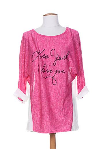 jenny EFFI_CHAR_1 co tuniques femme de couleur rose