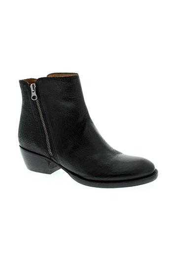 little...la suite chaussures femme de couleur noir