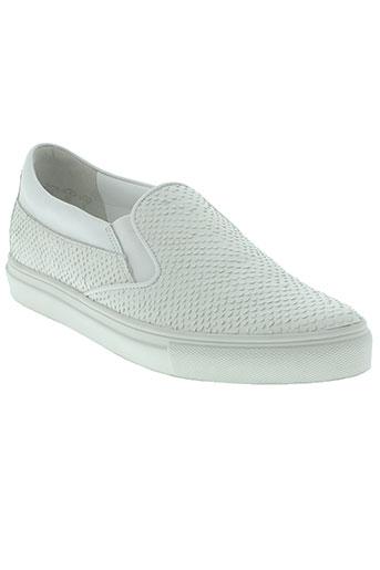 kennel und schmenger chaussures femme de couleur blanc