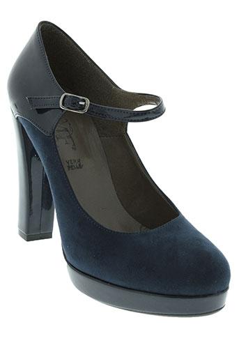 mercante di fiori chaussures femme de couleur bleu