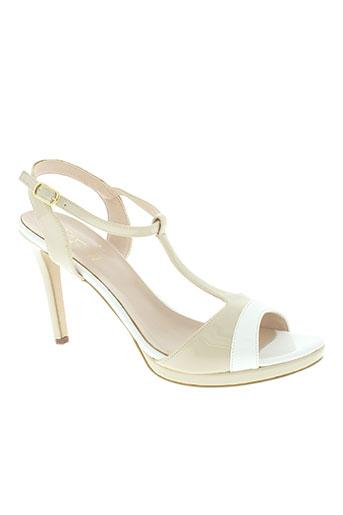mercante di fiori chaussures femme de couleur beige