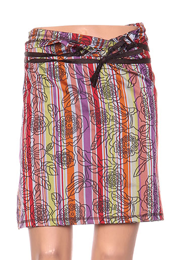 zelti jupes femme de couleur violet
