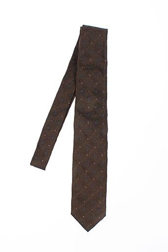 olivier strelli accessoires homme de couleur marron