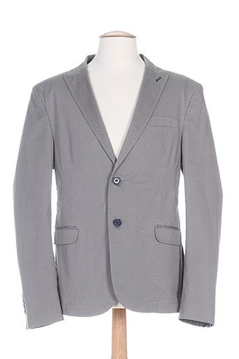hamaki-ho vestes homme de couleur gris