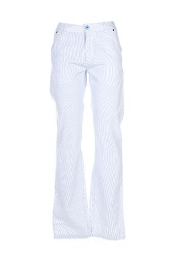 joe retro pantalons homme de couleur bleu