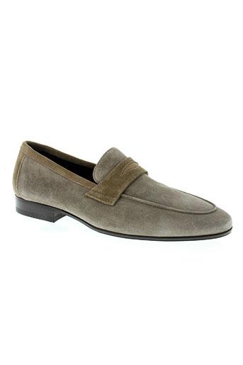 doucal s chaussures homme de couleur beige