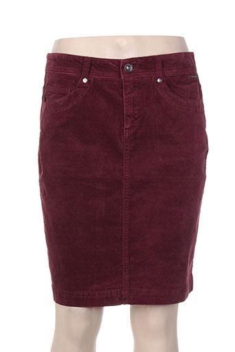 s.oliver jupes femme de couleur rouge